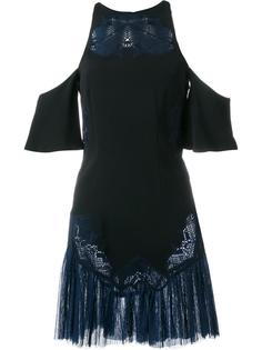 платье с вырезами на плечах и вышивкой Jonathan Simkhai