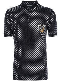 футболка-поло в горошек Dolce & Gabbana