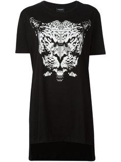 футболка с принтом леопарда Marcelo Burlon County Of Milan
