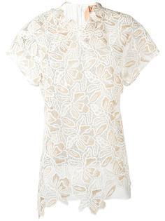 ажурная блузка Nº21