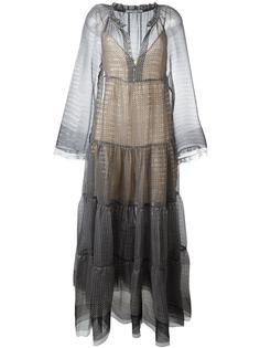 полупрозрачное платье  Stella McCartney