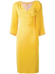 вечернее платье с бантом сбоку Dsquared2