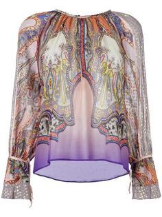 блузка с узором пейсли Etro