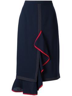 драпированная юбка Marco De Vincenzo