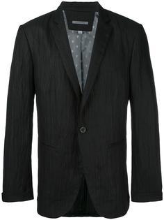пиджак с мятым эффектом John Varvatos