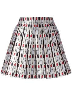плиссированная юбка с принтом Alice+Olivia