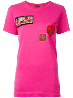 футболка с нашивками Mr & Mrs Italy