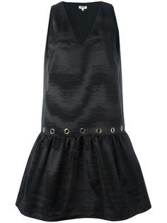 расклешенное платье  Kenzo