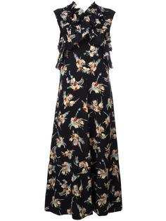 платье с оборками  Marni