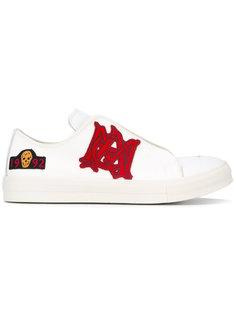 кроссовки с аппликацией Alexander McQueen