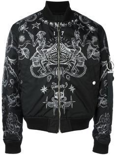 куртка бомбер с принтом Givenchy