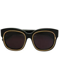 солнцезащитные очки в квадратной оправе Falabella Stella Mccartney Eyewear