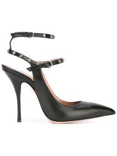 туфли с заклепками-звездами Red Valentino