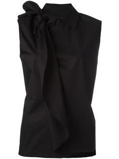 блузка с узлом Mm6 Maison Margiela