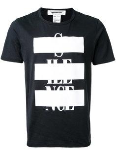 футболка с принтом Anrealage