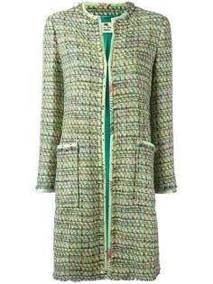 твидовое пальто  Etro