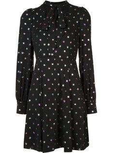 платье шифт в горох Marc Jacobs