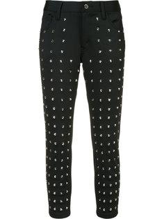 укороченные брюки с заклепками Junya Watanabe Comme Des Garçons