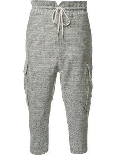 укороченные брюки карго Vivienne Westwood