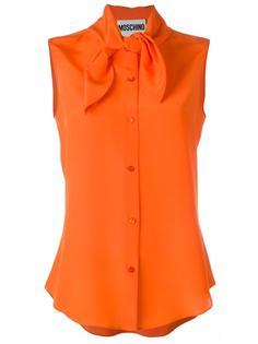 блузка с бантом Moschino