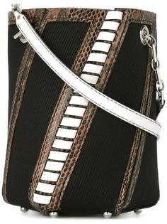 полосатая сумка-мешок Hex Proenza Schouler