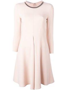 платье с декорированной горловиной Falabella Stella McCartney