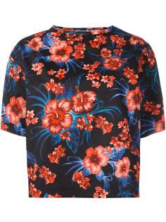 блузка с цветочным узором Fausto Puglisi