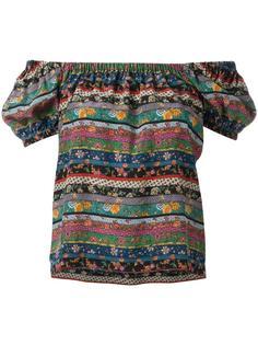 блузка с абстрактным узором Philosophy Di Lorenzo Serafini