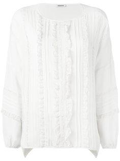блузка с кружевными вставками P.A.R.O.S.H.
