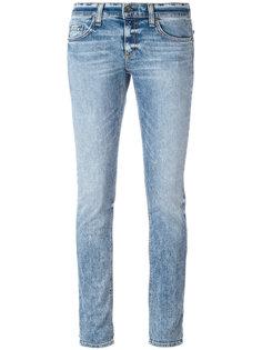джинсы скинни с линялым эффектом Rag & Bone /Jean
