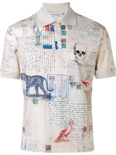 "футболка-поло ""Letters from India"" Alexander McQueen"