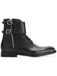 ботинки с двойной пряжкой Alexander McQueen