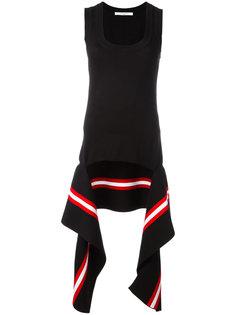 трикотажный топ с драпировкой Givenchy