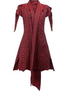 пиджак с лацканами-шалькой и короткими рукавами Aganovich