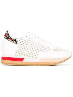 декорированные кроссовки  Philippe Model