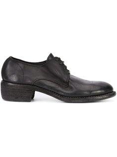 классические туфли на шнуровке Guidi