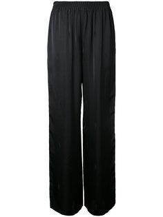 брюки палаццо с принтом Alexander Wang