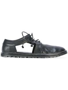 туфли дерби с вырезными деталями Marsèll