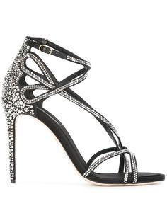 декорированные босоножки Dolce & Gabbana