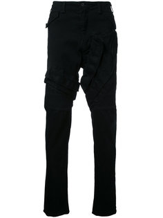 джинсы с декоративной строчкой Julius