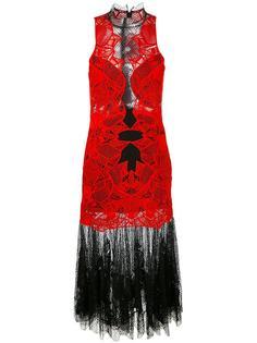 многослойное кружевное платье Jonathan Simkhai