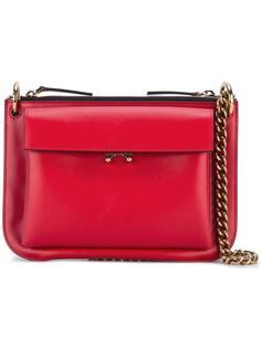 сумка через плечо с накладным карманом Marni