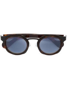 солнцезащитные очки-авиаторы Moncler Eyewear
