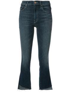 укороченные расклешенные джинсы Mother