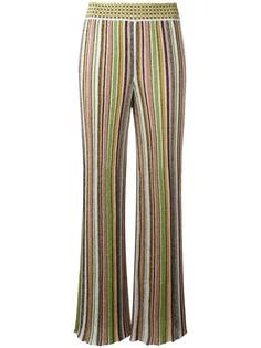 широкие брюки в полоску  Missoni