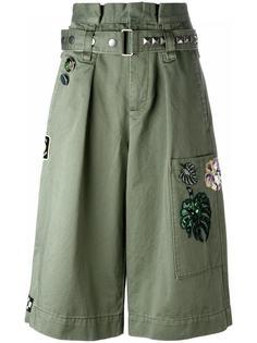шорты-карго с вышивкой Marc Jacobs