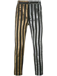 брюки в полоску Haider Ackermann