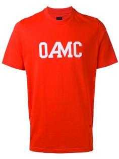 футболка с принтом логотипа Oamc