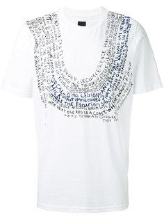 футболка с принтом Oamc