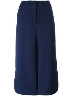 широкие укороченные брюки Armani Collezioni